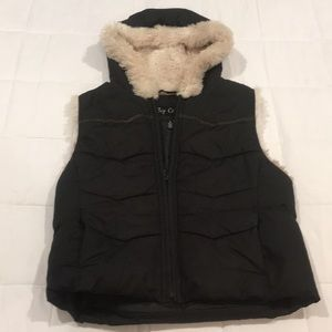 Big Chill Hooded Vest Size M